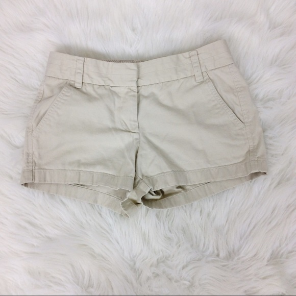 J. Crew Pants - J Crew Tan Weathered Broken-In Chino Shorts Twill